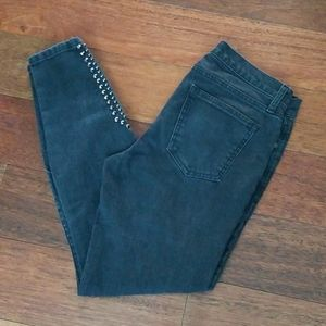 Current/Elliott | Zip Stiletto Ankle Jeans